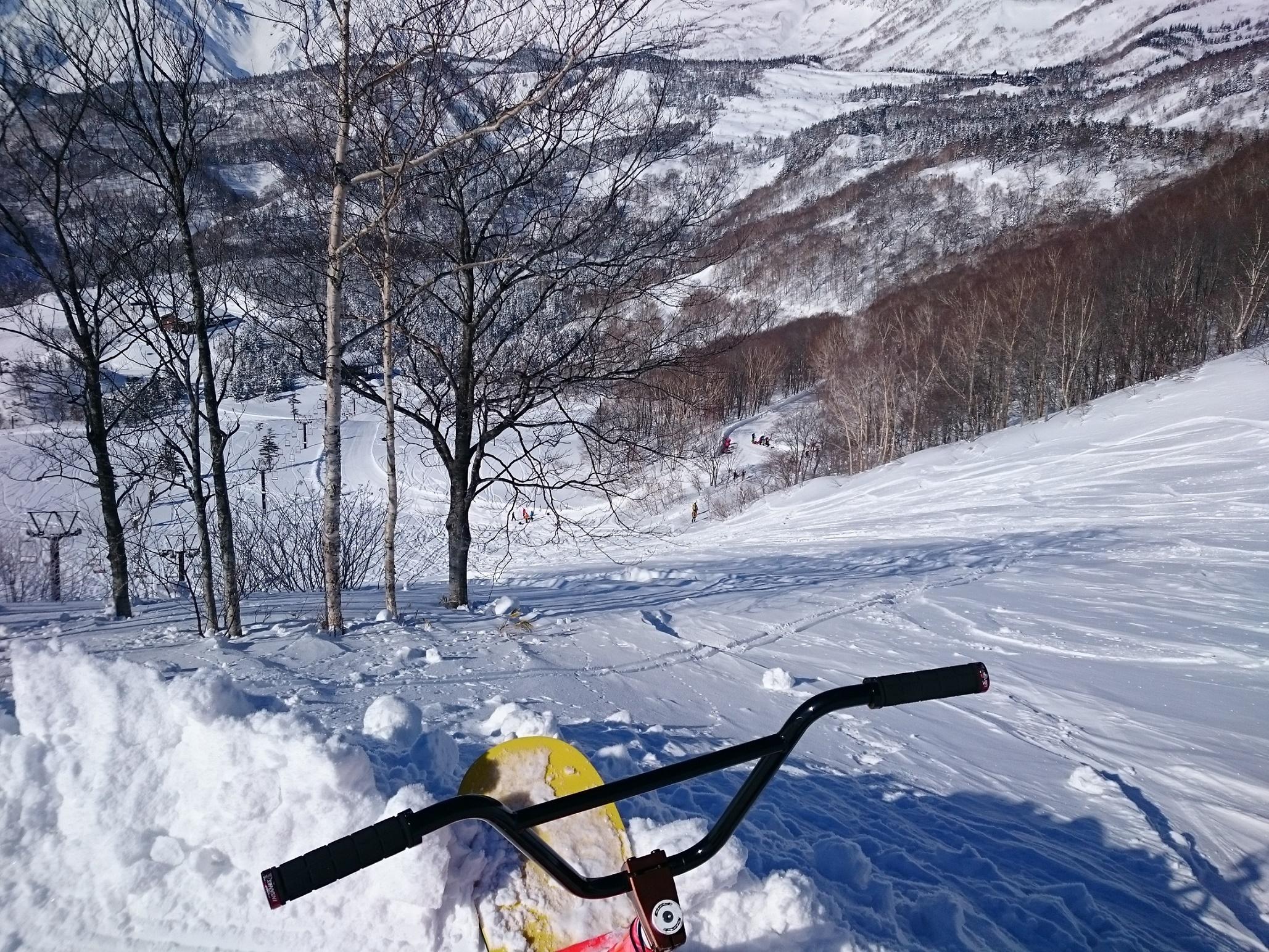 スノースクートとスノーモト 2015-1016